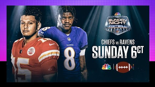 Don't miss a single second of this game at 'Chiefs vs Ravens' on September 19, 2021! including how to watch TV channel live stream for free on Reddit.