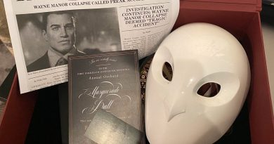 Gotham Knights Sends Out Court of Owl Masks & Party Invitations