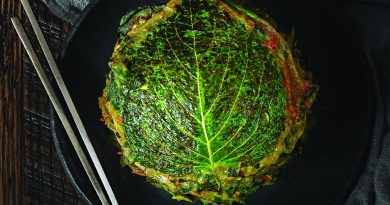 When Joanne Lee Molinaro announced she was going vegan, her mother was worried about her getting enough protein and what she would cook for her. The answer? Buchimgae, or Korean pancakes. This version uses perilla leaves — a favorite ingredient of her omma, or grandmother, who grew it in her garden.