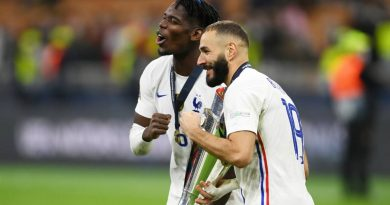 Benzema Celebrates the French conquest in the Nations League